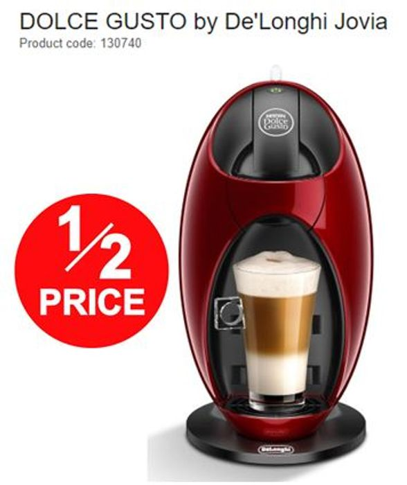 LESS THAN HALF PRICE! NESCAFE DOLCE GUSTO Jovia Coffee Machine - FREE DELIVERY