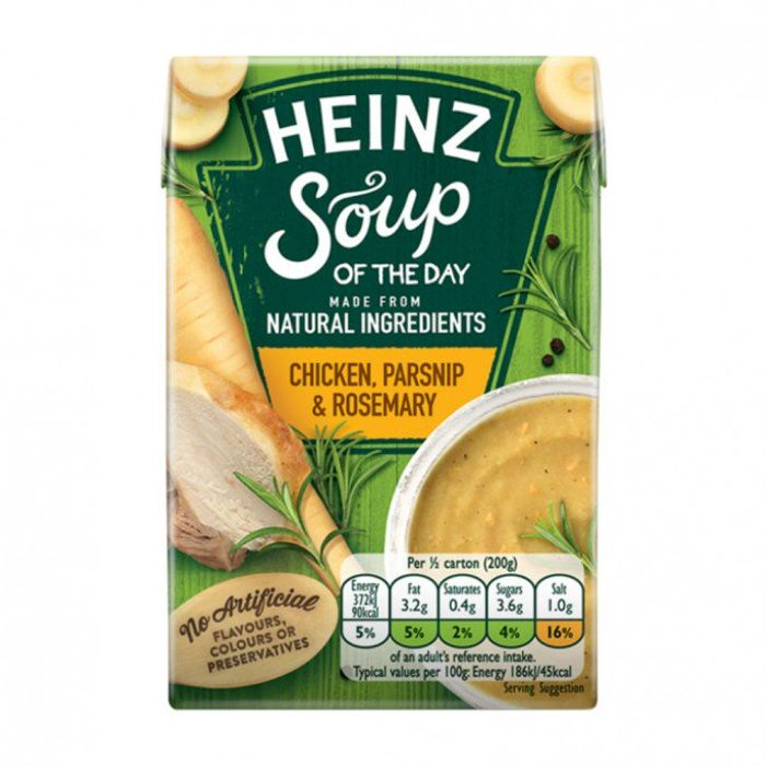 Heinz Soup of the Day Chicken, Parsnip & Rosemary 400g