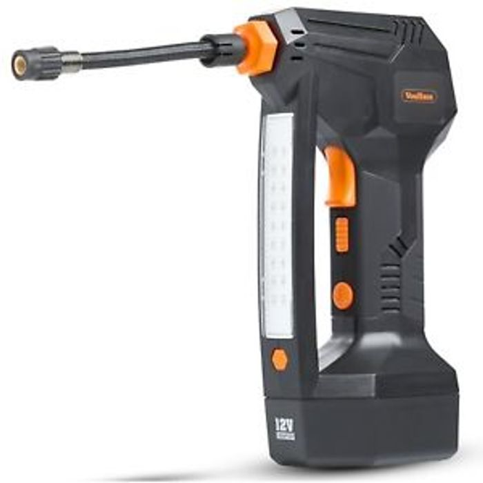 Details about VonHaus Digital Tyre Inflator Cordless Handheld Air Compressor
