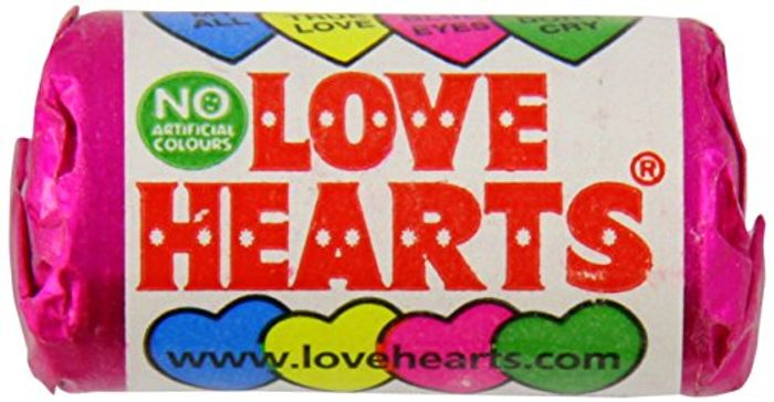 CHEAP- 50 Rolls of Love Hearts YUMMY