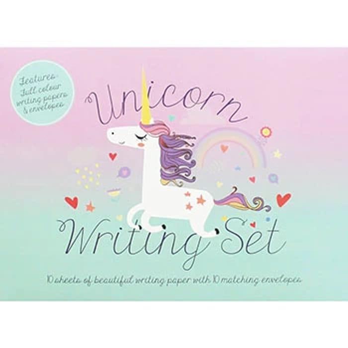 Unicorn Writing Set - Only £1.50 with Free C&C