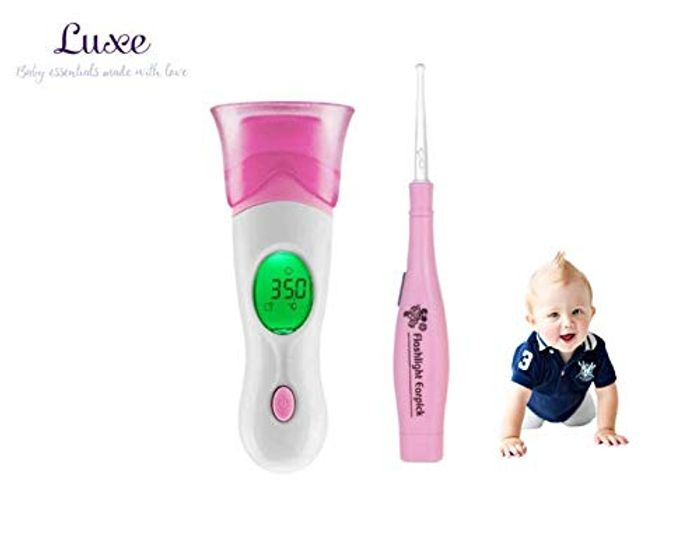 Ear & Forehead Thermometer with Earwax Removal
