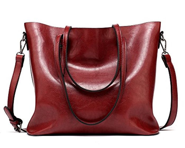 FNTSIC Women's PU Leather Handbags