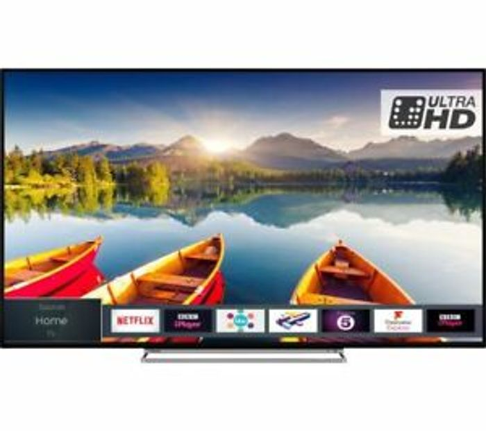 "Details about TOSHIBA 50U6863DB 50"" Smart 4K Ultra HD HDR LED TV - Currys"