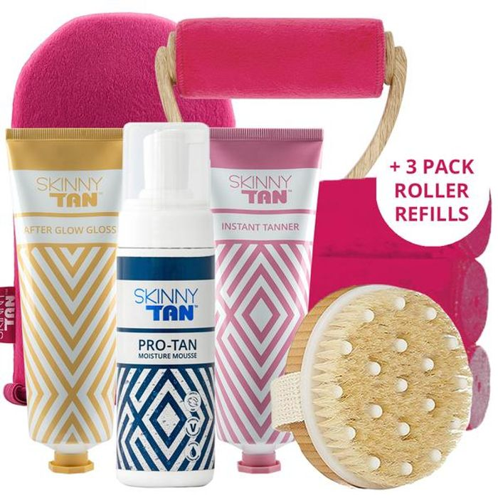 6 Free Items When You Order Skinny Tan