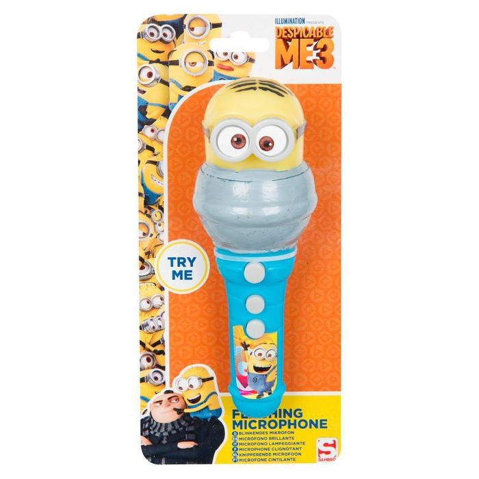 Despicable Me Minions Flashing Microphone