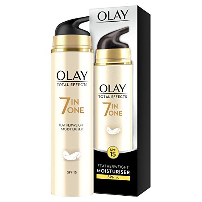 Olay Total Effects Featherweight 7-in-1 Day Cream with SPF15, 50 Ml