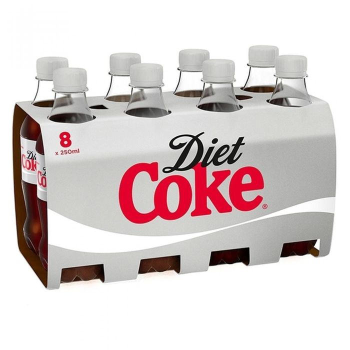 MEGA DEAL CASE PRICE Diet Coke Minis 250ml X 8 - 62% Off