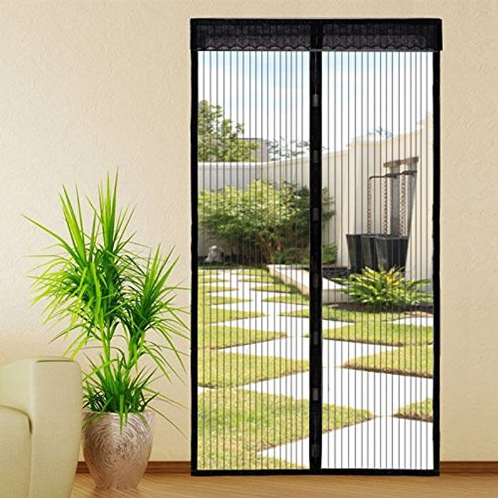 Extsud Magnetic Screen Door Keep Insects out Mosquito