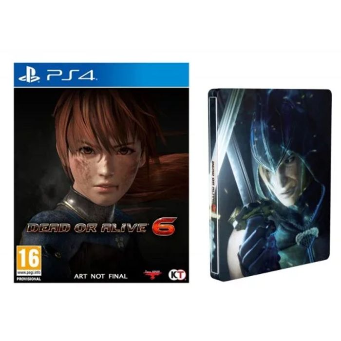 PS4 / Xbox One Dead or Alive 6 Steelbook Edition £23.95 at the Game Collection