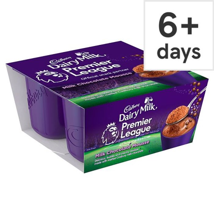 Cadbury Dairy Milk Bubbles of Joy Chocolate Mousse 4 X45g