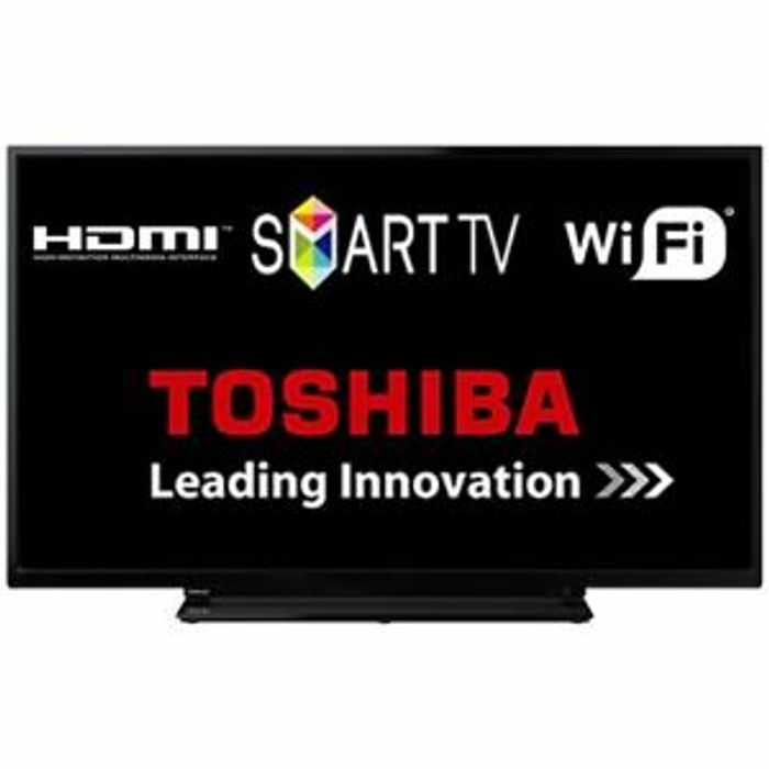 """Details about Toshiba 40L2863DB 40"""" Smart D-LED TV Full HD Built-in WiFi HDMI"""
