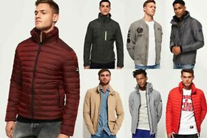 New Mens Superdry Jackets2 Selection - Various Styles & Colours