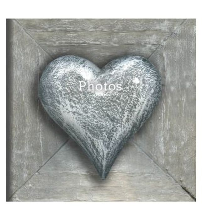 Stone Heart Memo 6x4 Slip in Photo Album 140 Photos HALF PRICE