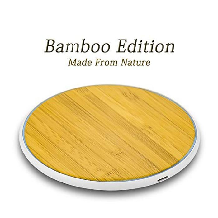 Krobot Wireless Charger Bamboo - Save £12