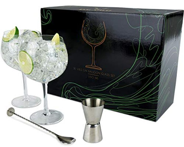 Gin Glasses Set of 2 - Large 650mL - Save £4