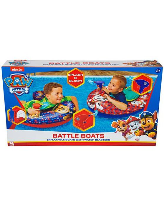 Paw Patrol Battle Boats with Blasters