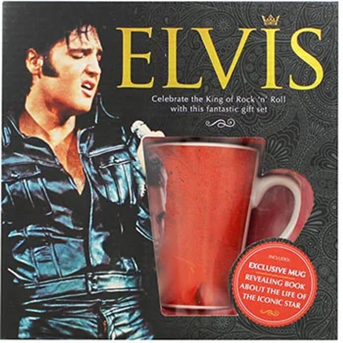 Elvis - Book and Mug Gift Set 2 for £5