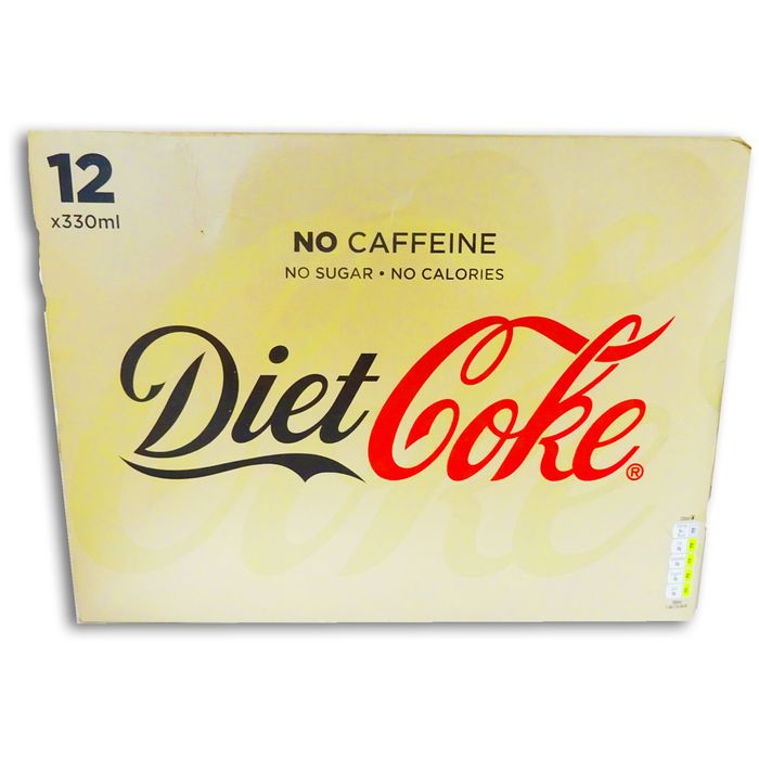 Diet Coke Caffeine Free 12 x 330ml Cans