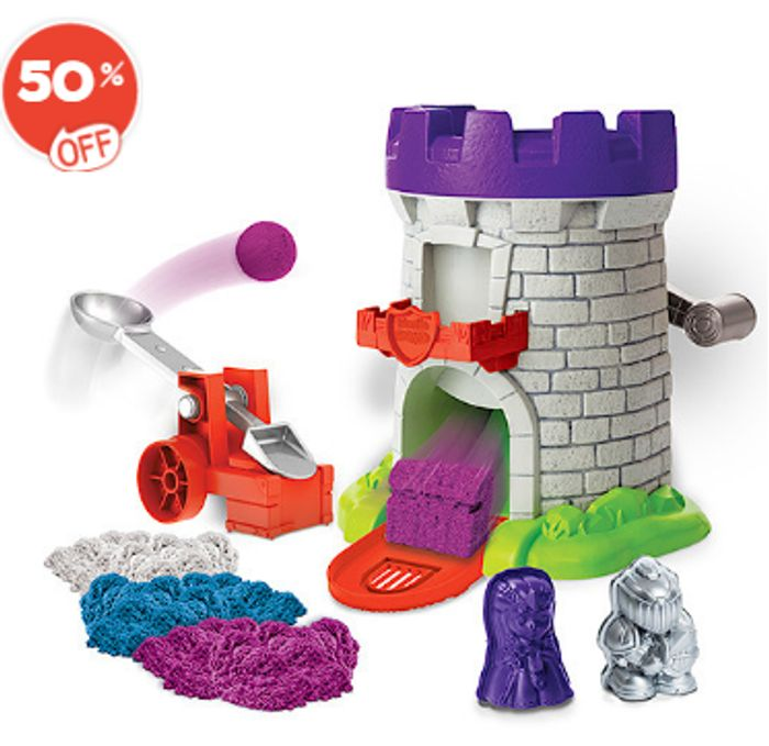 The Entertainer. Kinetic Magic Sand Mould Half Price