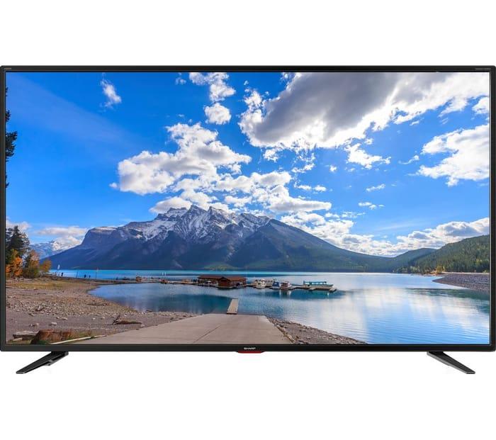 "SHARP 40"" Smart Ultra HD HDR LED 4K TV"