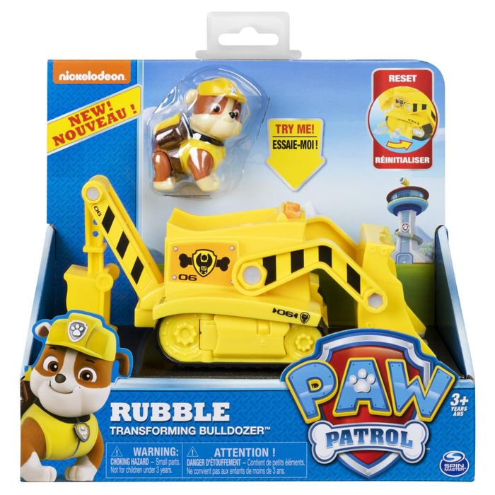 Rubble's Transforming Bulldozer | PAW Patrol