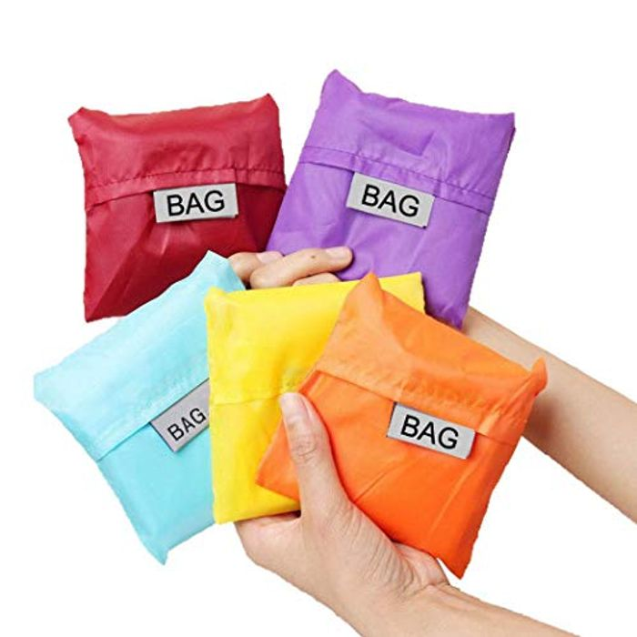 5 Pcs Shopping Bag 70% off + Free Delivery