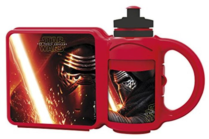 Kids Star Wars Lunch Box and Bottle Combo Set at Amazon (Add-on Item)