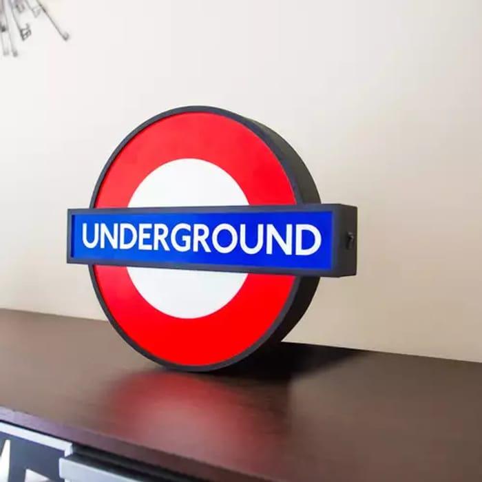 25% off London Underground Lightbox