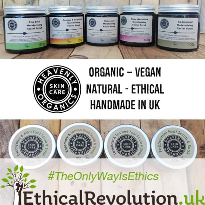 15% Heavenly Organics Skin Care Coupon Code