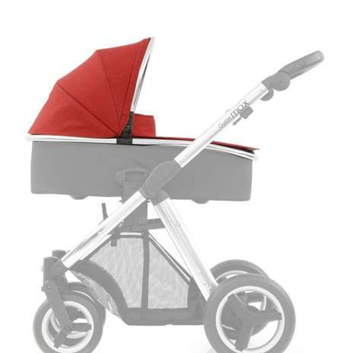 Babystyle Oyster Max Carrycot Tango Red Colour Pack