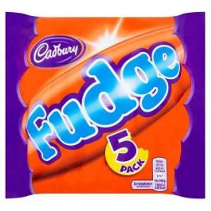Cadbury Fudge 5 Pack for 75p