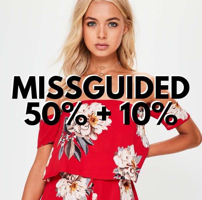 Missguided - up to 50% off Everything + EXTRA 10% OFF