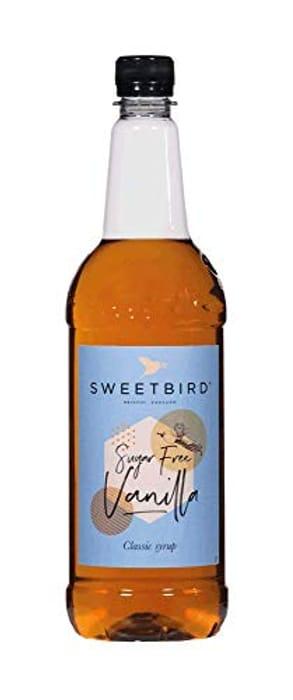 Sweetbird Vanilla Sugar Free Syrup 1 Litre