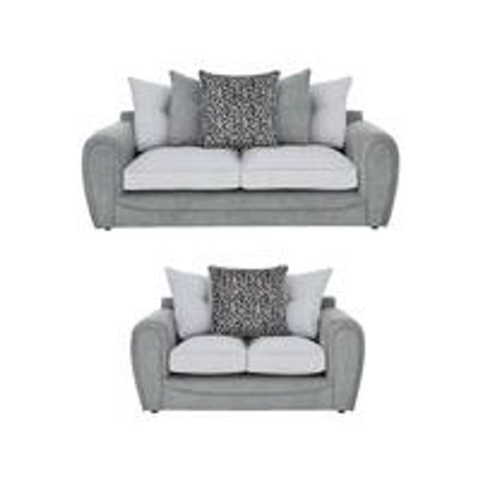 *SAVE £880* Mosaic 3-Seater + 2-Seater Fabric Sofa Set