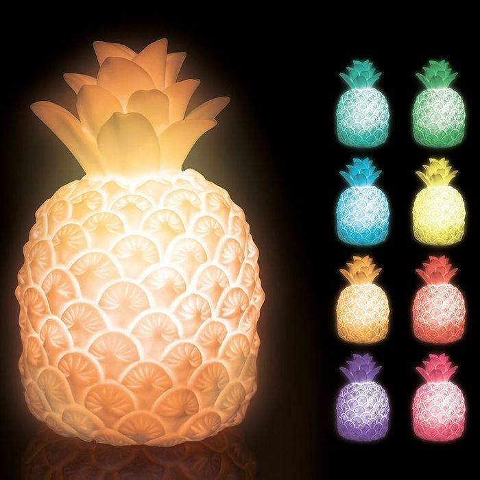 Colour-Changing Pineapple Mood Light