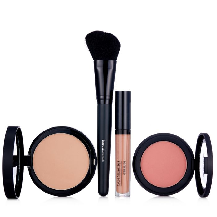 Bareminerals 4 Piece Barepro Powder Foundation Collection