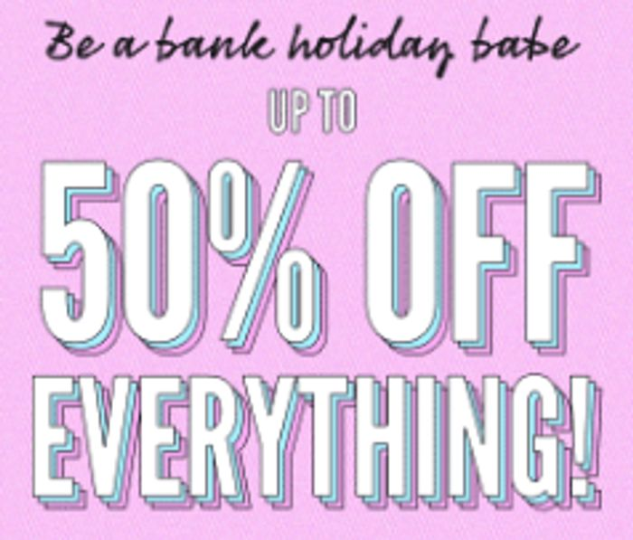 Boohoo - up to 50% off Everything