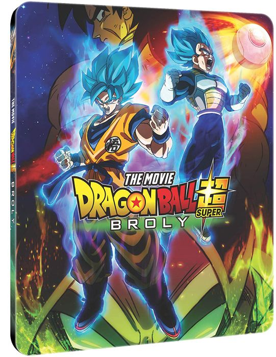 Cheap Dragon Ball Super: Broly - Steelbook Edition (BD + DVD) with £2.5 Discount