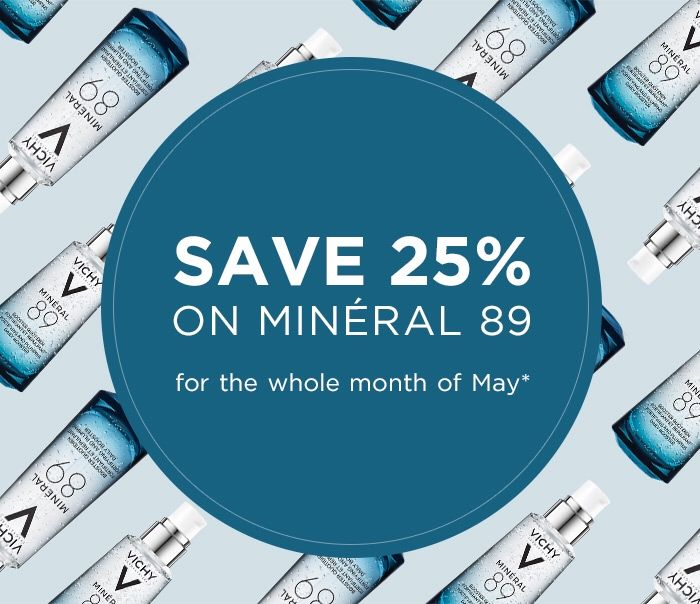 Shop Minral 89 and save 25%!