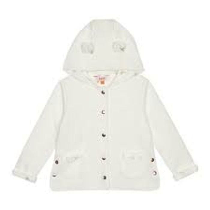Baker by Ted Baker - Girls' White Quilted Jacket Half Price