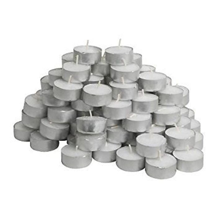 100 IKEA Tealight Candles with Free Delivery