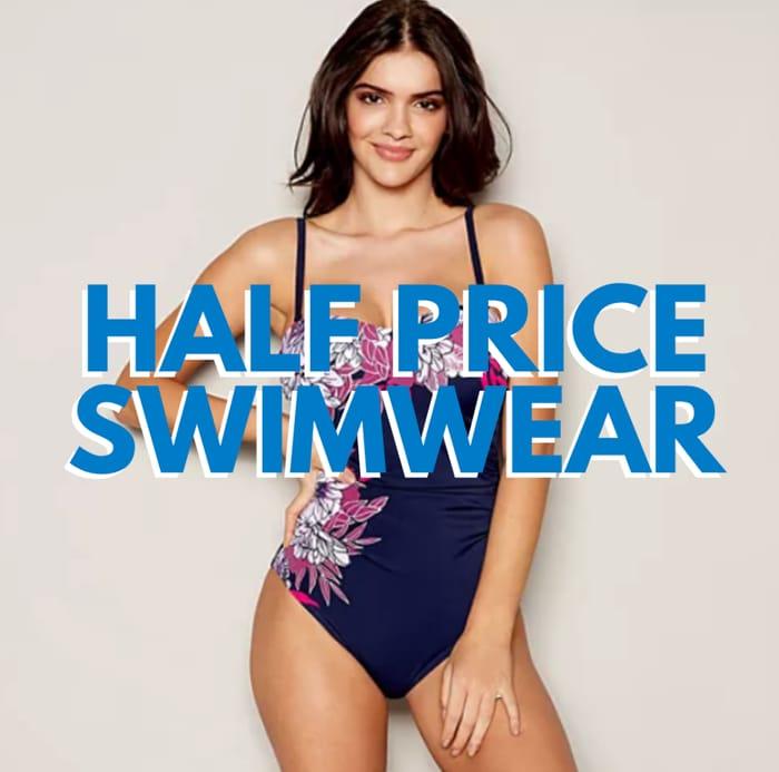 Half Price Swimwear at Debenhams! (Today Only)