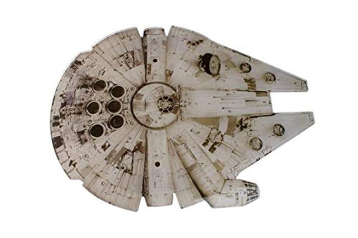 Star Wars Chopping Board: Millennium Falcon - HALF PRICE at Amazon