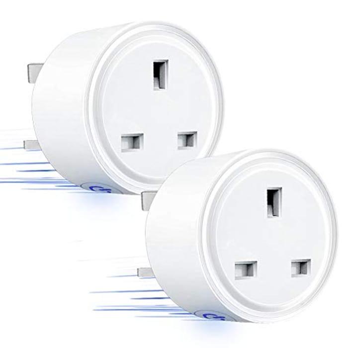 WiFi Smart Plug Socket Compatible with Alexa or Google Home