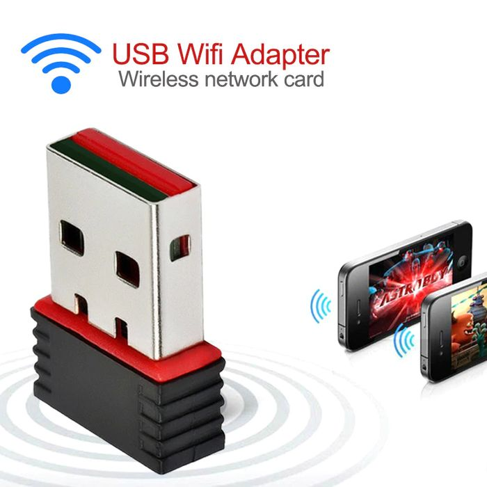 300Mbps USB 2.0 WiFi Wireless Adapter - 60% Off