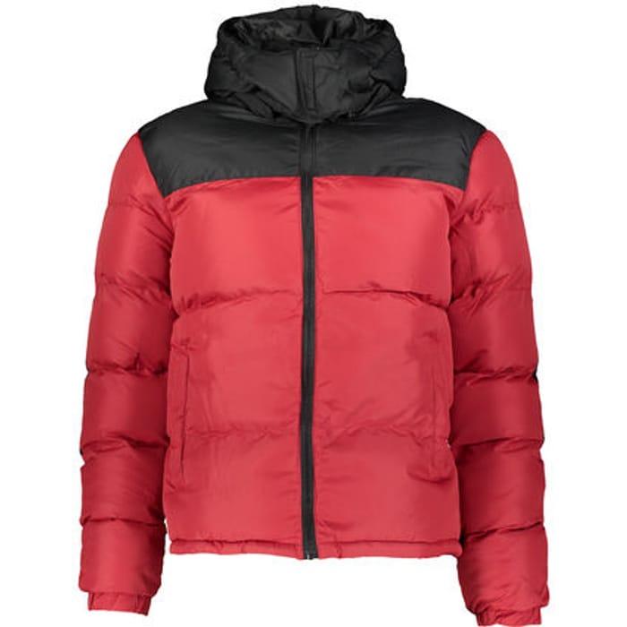 BRAVE SOUL Red Padded Coat - 60% Off