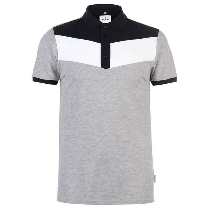 Soviet Panel Polo Shirt (Size M)