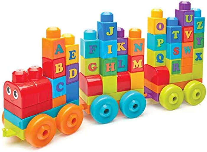 ALMOST 1/2 PRICE - Mega Bloks ABC Learning Train