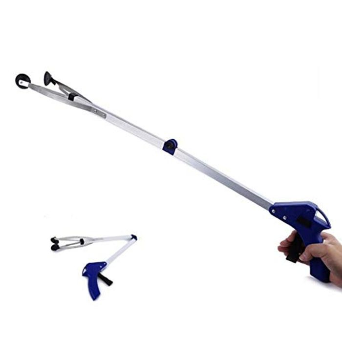 Foldable Long Arm Reaching Claw/Grabber Pickup Tool